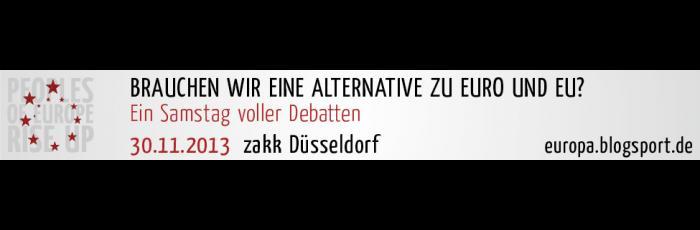 Alternative zu Euro und EU